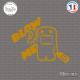 Sticker JDM Blow Me Turbo Sticks-em.fr Couleurs au choix