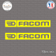 2 Stickers Facom Sticks-em.fr Couleurs au choix