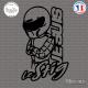Sticker JDM Je suis le Stig Sticks-em.fr Couleurs au choix