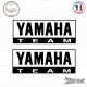 2 Stickers Yamaha Team