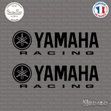 2 Stickers Yamaha Racing