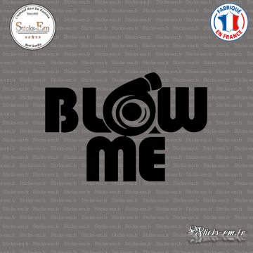 Sticker JDM Blow Me V2