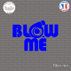 Sticker JDM Blow Me V2 Sticks-em.fr Couleurs au choix