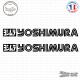 2 Stickers Logo Yoshimura