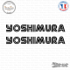 2 Stickers Logo Yoshimura V2