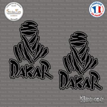 2 Stickers Dakar Touareg logo