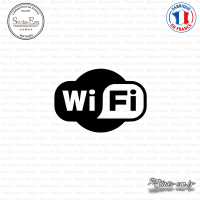 Sticker Logo Wifi Sticks-em.fr Couleurs au choix
