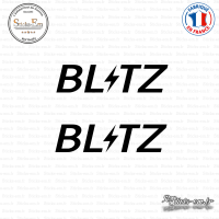 2 Stickers Blitz Sticks-em.fr Couleurs au choix