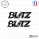 2 Stickers Blitz Logo
