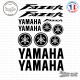 Stickers Planche Yamaha Fazer